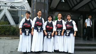 中学剣道部都大会での活躍
