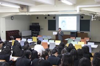 創立記念講話が開催されました。