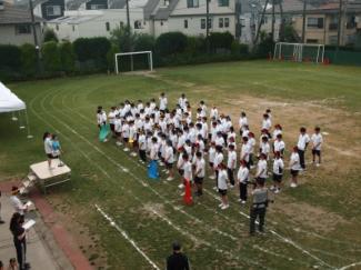 スポーツフェスティバルが行われました。