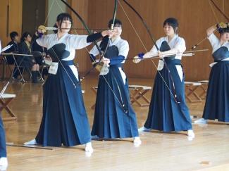 高校弓道部が関東大会東京都予選に出場しました
